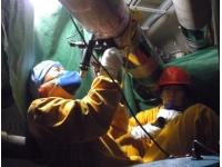 核电管道现场金相分析